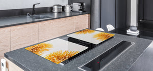 BIG KITCHEN BOARD & Induction Cooktop Cover – Glass Pastry Board - Food series DD16 Pasta 2