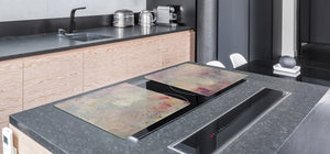 GIGANTIC CUTTING BOARD and Cooktop Cover- Image Series DD05A Painting on canvas 1