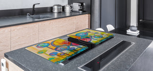 Induction Cooktop Cover – Glass Worktop saver: Fantasy and fairy-tale series DD18 Children's picture