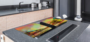 Impact & Shatter Resistant Worktop saver- Image Series DD05B Colorful park