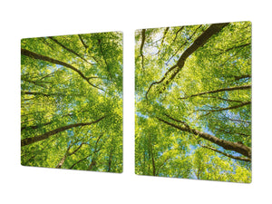 Very Big Cooktop saver - Nature series DD08 Crowns of trees