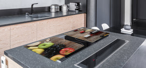 UNIQUE Tempered GLASS Kitchen Board Fruit and Vegetables series DD02 Fruit 2
