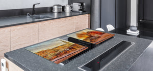 Impact & Shatter Resistant Worktop saver- Image Series DD05B Old Town