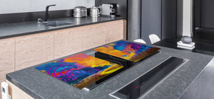 Induction Cooktop Cover – Glass Worktop saver: Fantasy and fairy-tale series DD18 The last way