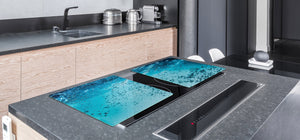 Gigantic KITCHEN BOARD & Induction Cooktop Cover - Water Series DD10 Water 1