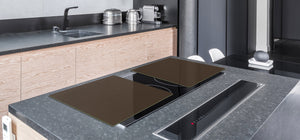 Gigantic Protection panel & Induction Cooktop Cover – Colours Series DD22B Brown