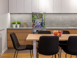 Tempered glass Cooker backsplash BS16 Waterfall landscapes Series: Street Of Venice 1