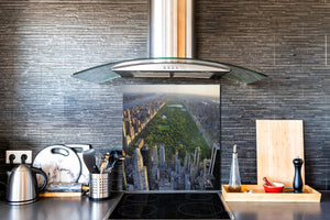 Glass Upstand – Sink backsplash BS25 Cities Series: City Panorama 1