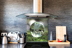 Printed Tempered glass wall art BS13 Various Series: Crystal Ball  2