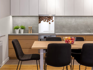 Printed Tempered glass wall art BS05B Coffee B Series: Coffee Beans 7