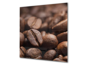 Printed Tempered glass wall art BS05B Coffee B Series: Coffee Beans 8