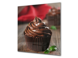 Tempered glass Cooker backsplash BS07 Desserts Series: Muffin Cupcake 2