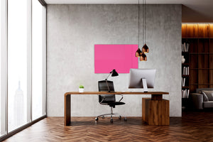 Magnetic Dry-Erase Glass Board Large or Small pink