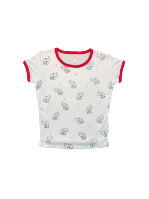Load image into Gallery viewer, Elephant Heart Short Sleeve