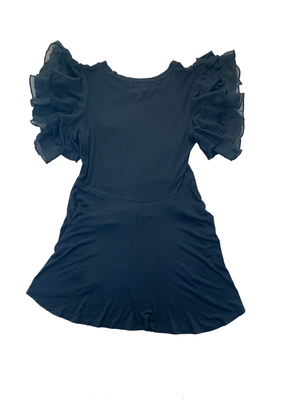 Load image into Gallery viewer, High Low Ruffle Sleeve Top