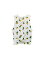 Pineapple Knot Front Tank Top
