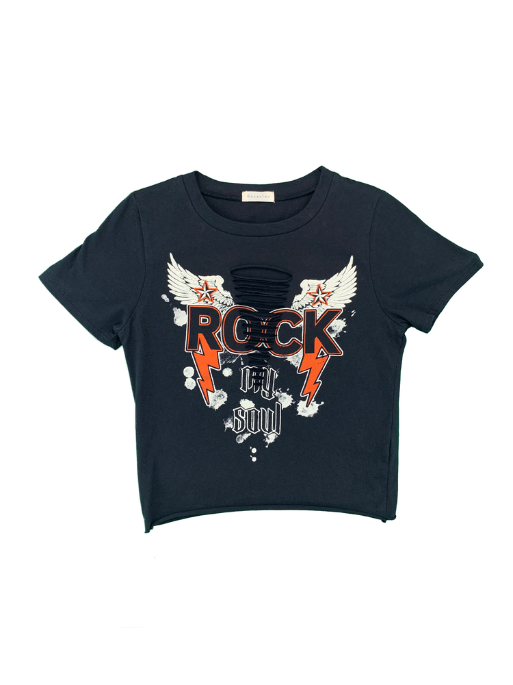 "Load image into Gallery viewer, ""Rock My Soul"" Short Sleeve"