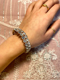 Women's Double Gem Bracelet (Self-Adjustable)