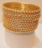 Women's Delicate Dots Bangle (12-piece)