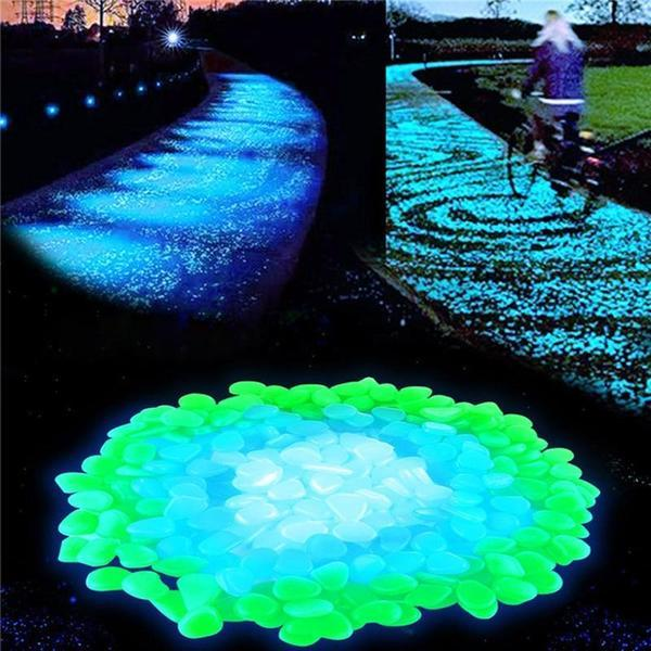 Gleam - Glow-in-the-Dark Garden Pebbles - Modernly Decor