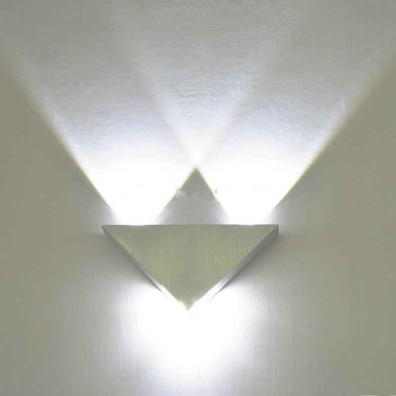 Modern LED Triangle Wall Lamp - Modernly Decor