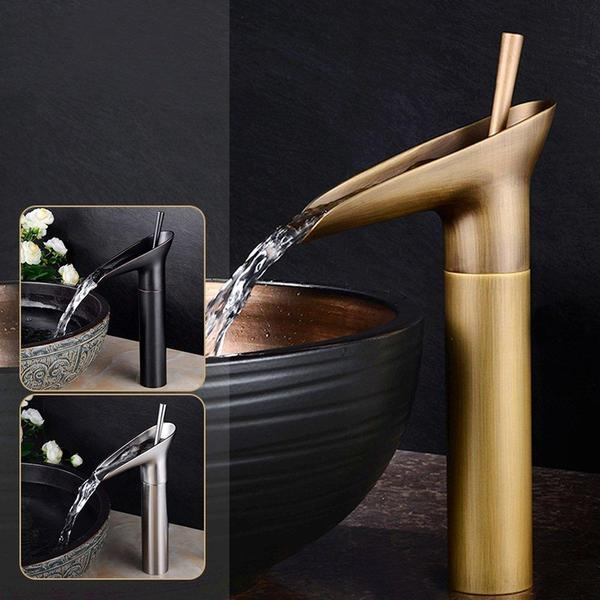 Tika -Luxury Oriental Waterfall Faucet - Modernly Decor