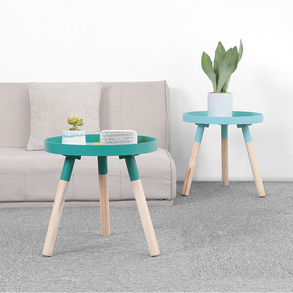Rula - Round Color Pop Coffee Table - Modernly Decor