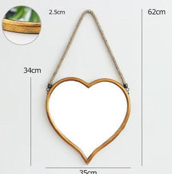 Petunia - Heart Hanging Mirror - Modernly Decor