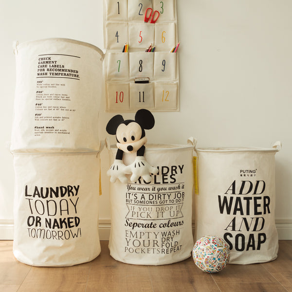 Bosley - Foldable Laundry Hamper - Modernly Decor