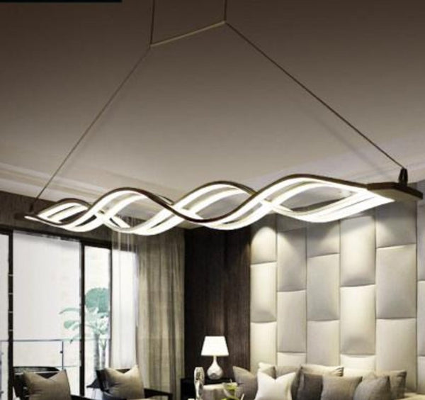LED Wave Chandelier - Modernly Decor