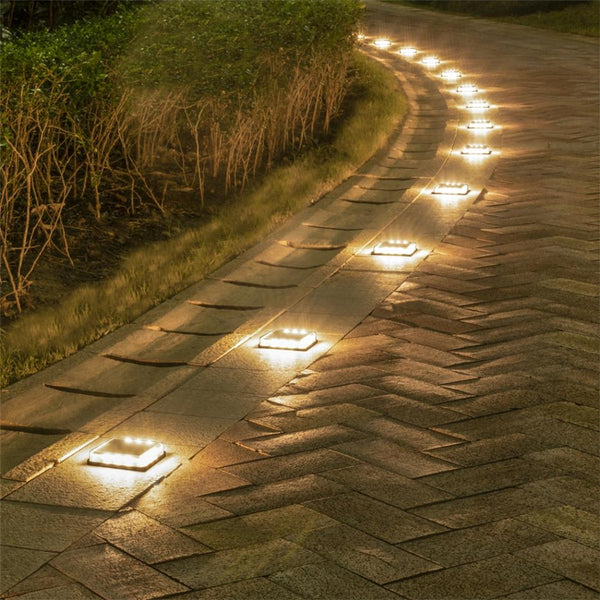 Calandra - LED Solar Ground Embedded Light - Modernly Decor