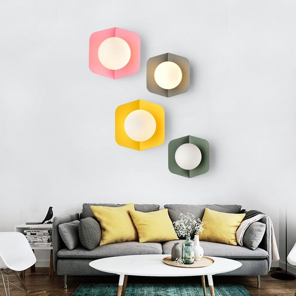 Arnold - Modern Nordic Candy Wall Lamp - Modernly Decor