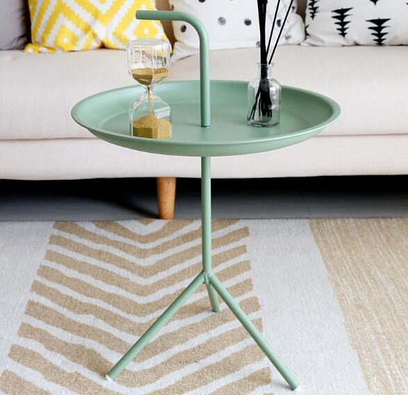 Augie - Modern Nordic Side Table - Modernly Decor