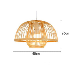 Calico - Bamboo Pendant Hanging Light - Modernly Decor