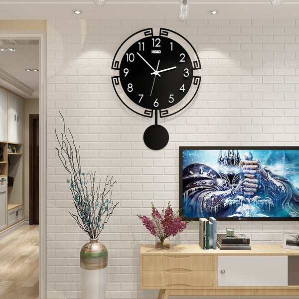 Asa - Modern European Silent Clock - Modernly Decor