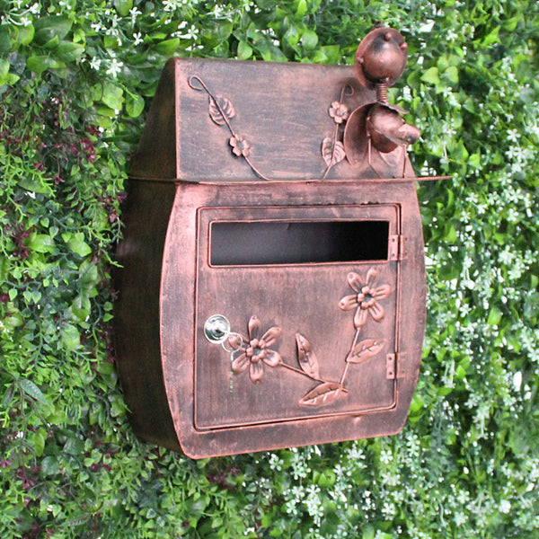 Chandler - Iron Retro Mailbox - Modernly Decor