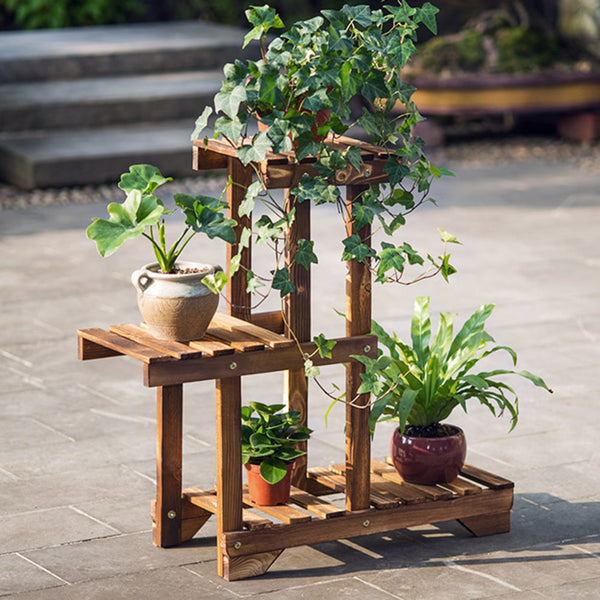 Luz - Multi-Level Planter Shelves - Modernly Decor