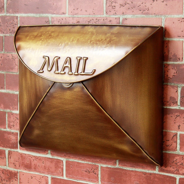Bronce - Industrial Retro Handcrafted Mailbox - Modernly Decor