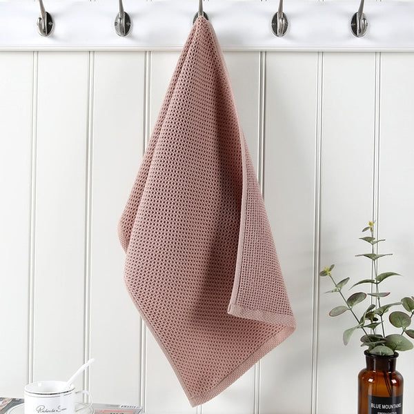 Diem - Waffle Rib Cotton Hand Towel - Modernly Decor