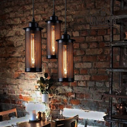 Caius - Vintage Industrial Hanging Pendant Lamp - Modernly Decor