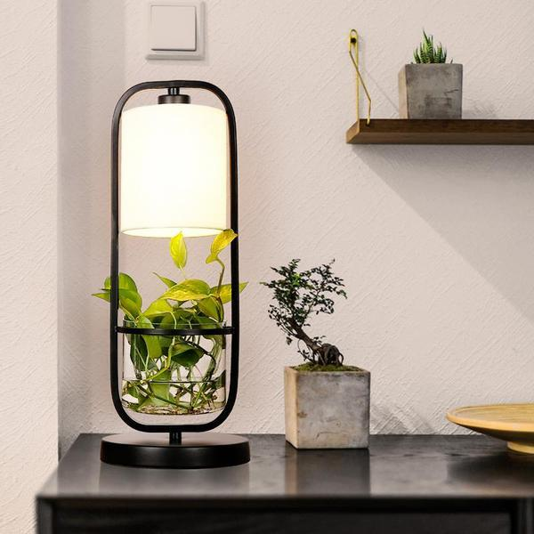 Augustus - Frame Planter LED Desk Lamp - Modernly Decor