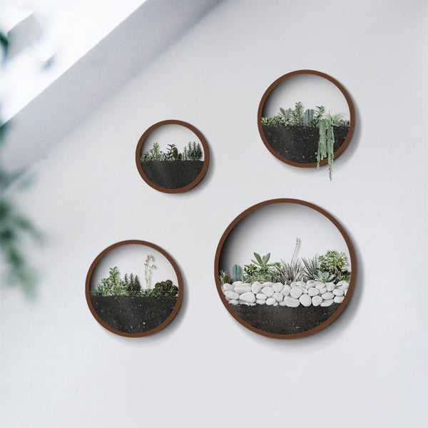 Lou - Modern Wall Planter Vase - Modernly Decor