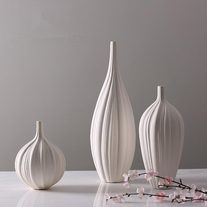 Ava - Modern Textured Vase - Modernly Decor