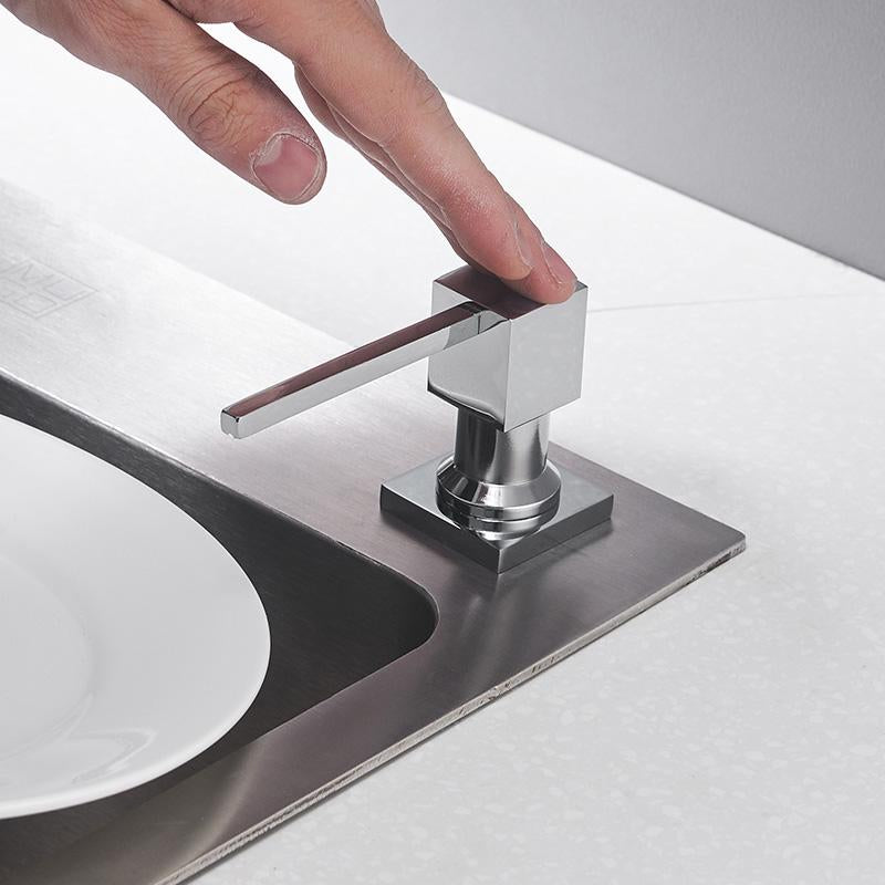 Bevan - Sink Mounted Detergent Dispenser - Modernly Decor