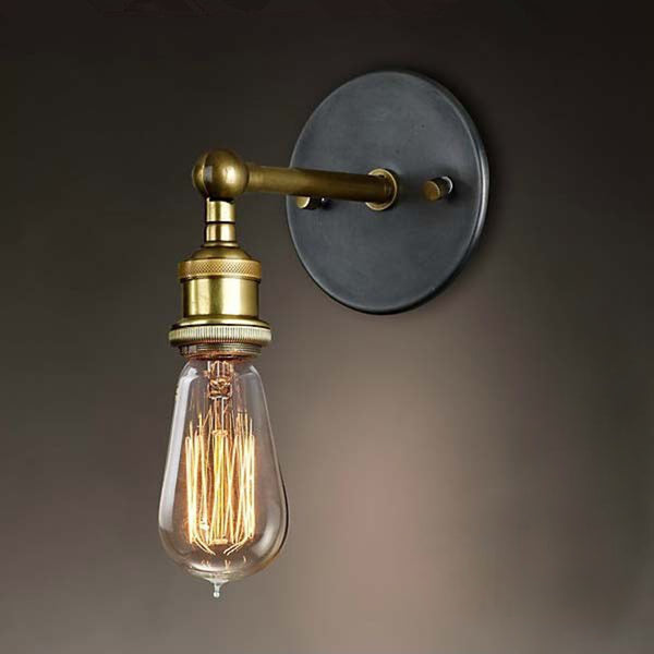 Caz - Country Style Brass Wall Lamp - Modernly Decor