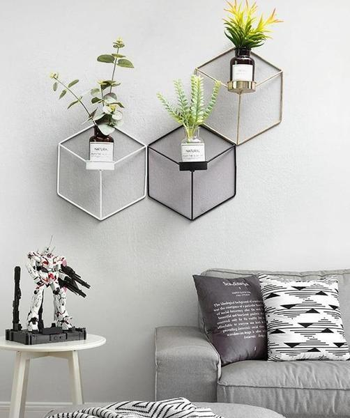 Hex - Modern Nordic Planter Shelves - Modernly Decor