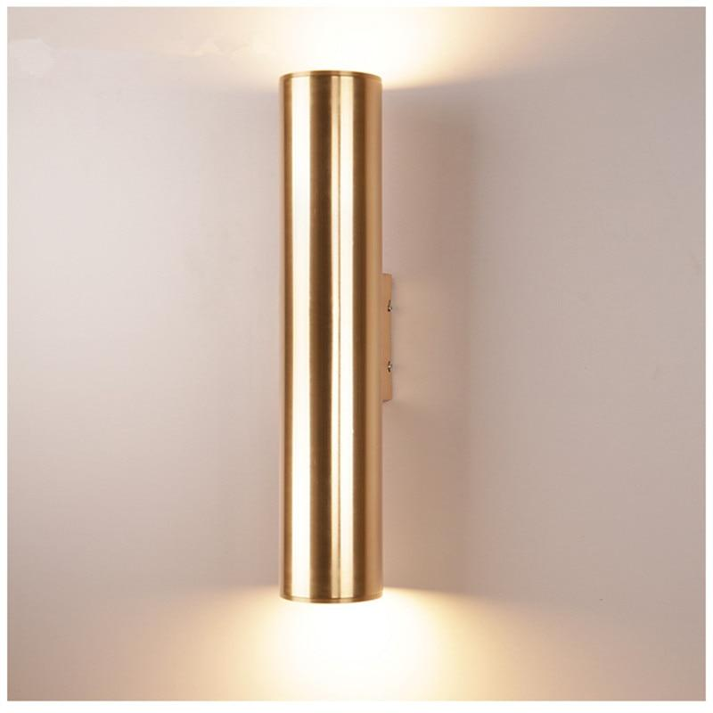 Tobias - Modern Nordic Art Deco Cylinder Wall Lamp - Modernly Decor