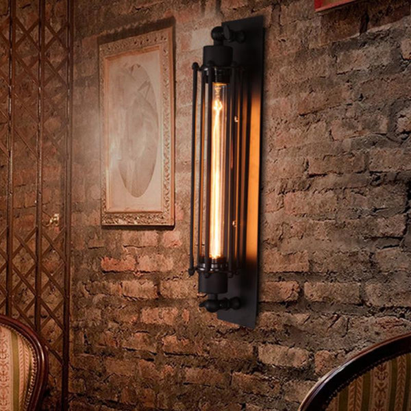 Pravir - Industrial Vintage Bar Wall Lamp - Modernly Decor