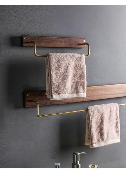 Alma - Wooden Towel Rack - Modernly Decor