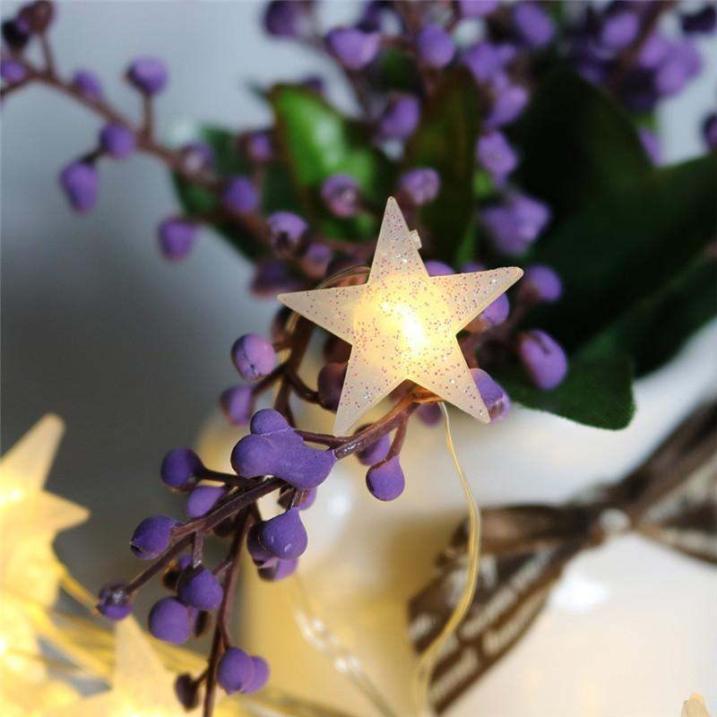 Kintana - Star Shape Fairy Lights - Modernly Decor